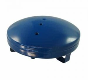 "3 Gallon Pancake Air Tank, 3 - 1/4"" Ports (15.5"" x 6.5"")"