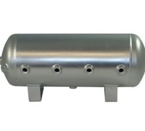 "5 Gallon, 8 Port Aluminum Air Tank (28"" X 8"")"