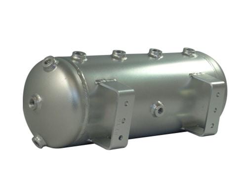 """5 Gallon, 8 Port Aluminum Air Tank (28"""" X 8"""")"""