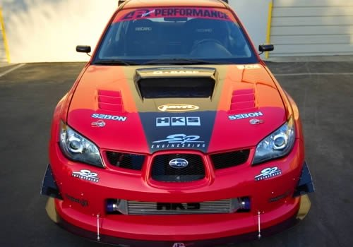 2006-2007 Subaru Impreza WRX Widebody Aerodynamic Body Kit