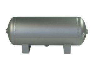 "3 Gallon, 5 Port Aluminum Air Tank (18"" X 7"")"