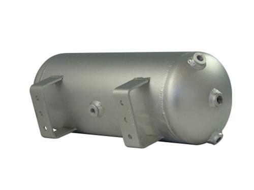 """3 Gallon, 5 Port Aluminum Air Tank (18"""" X 7"""")"""