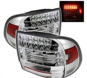 03-07 Porsche Cayenne LED Tail Lights - Chrome