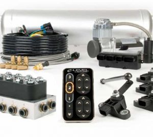 ACCUAIR e-Level Suspension Digital Switch Controller, Fully Loaded Ride Height Controller Kit