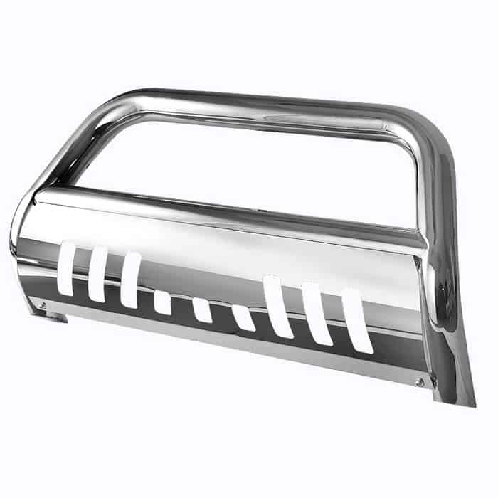 1999-2004 Ford F250, 350, 450, 550HD, Superduty 3 inch Stainless Bull Bar
