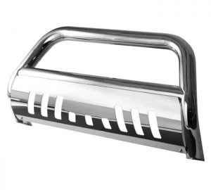 2005-2010 Nissan Frontier, Pathfinder 3 inch Stainless Bull Bar