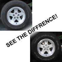 Black & White Tire Cleaner Gallon