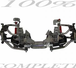 1963-1972 Chevrolet C10 Street Scraper Front Air Suspension Kit (Complete Front Axle Kit)(no fittings)