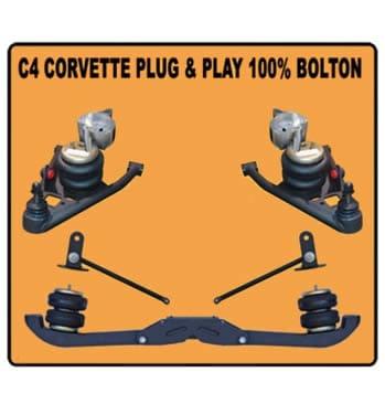 1997-2004 Chevrolet Corvette C5 Complete Air Suspension Kit