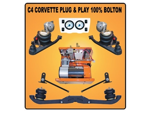 1997-2004 Chevrolet Corvette C5 Plug and Play Air Suspension Kit