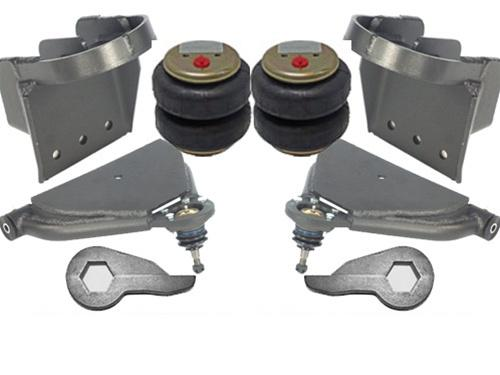 1999-2009 Chevrolet 1500/2500/3500HD, Duramax Pickup Plug and Play Air Suspension Kit