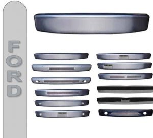 1997-1998 Ford F150, Expedition Smooth Steel Front Bumper