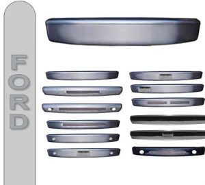 1989-1992 Ford Ranger Smooth Steel Front Bumper