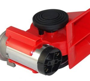 "6"" Train Air Horn With Valve, Switches & Compressor - 110db"
