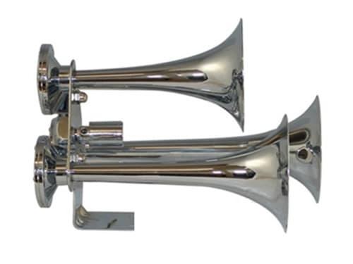 """14"""" Triple Train Air Horn With Valve - 149db"""