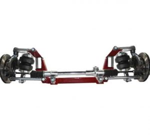 1955-1958 Chevy Pickup Front Clip (Mustang II - Bags/Brackets, Complete Steering Rack & Pinion, Control Arms, Brakes)