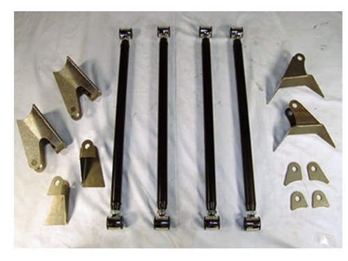 1982-2004 Chevrolet 4WD S10, S15, with upper Frame Mounts Plug and Play Air Suspension Kit