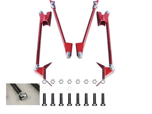 1992-2000 Chevrolet Escalade, Blazer, Tahoe, Yukon, 2wd Only Plug and Play Air Suspension Kit
