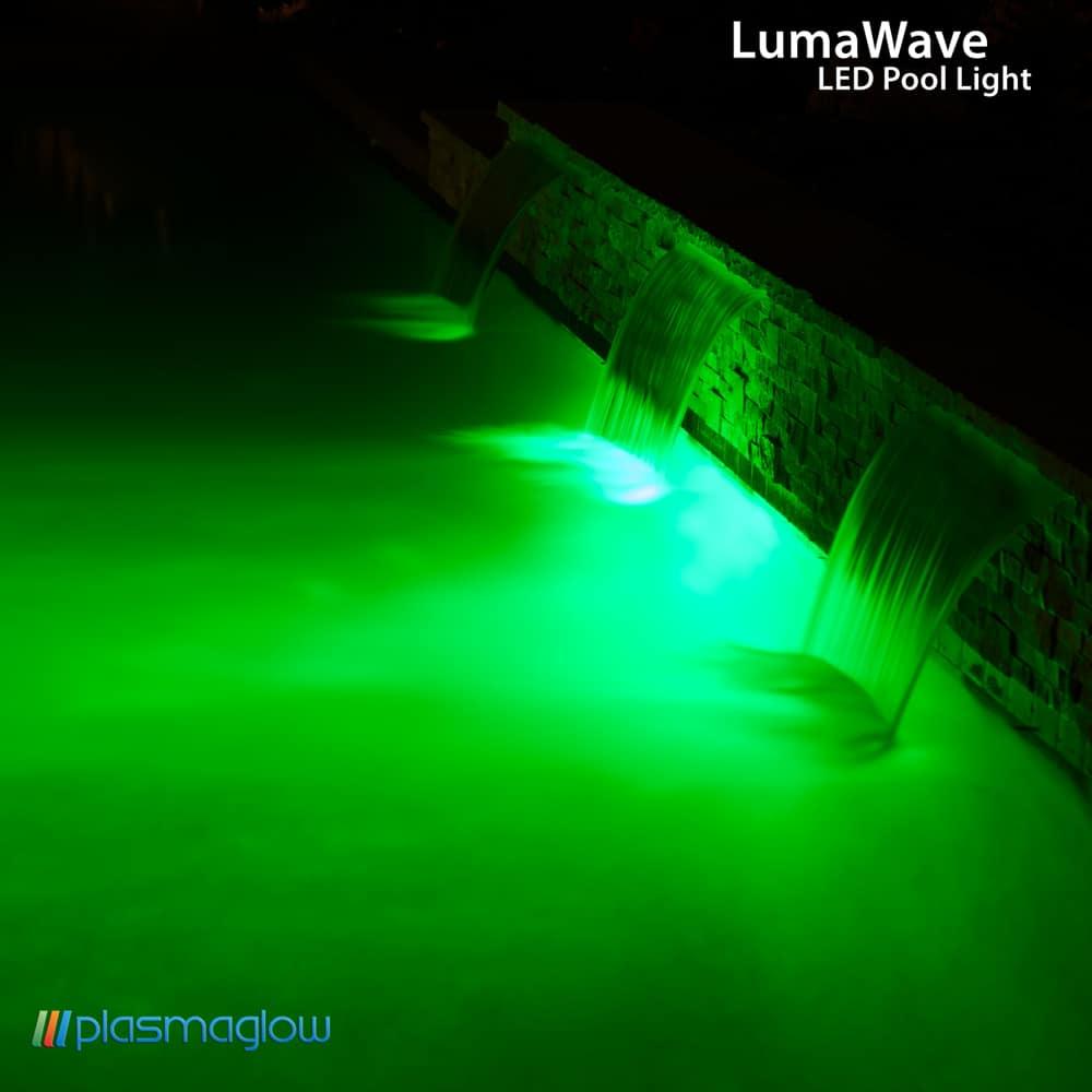 Plasmaglow LumaWave LED Swimming Pool Light - X2 Industries