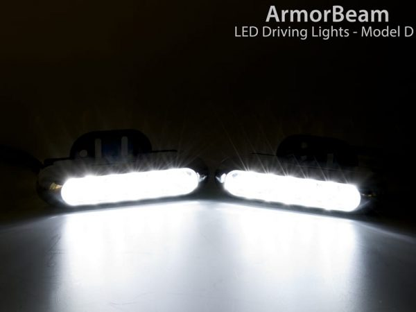Plasmaglow ArmorBeam Pro-Series LED Driving Lights - Model D