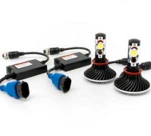 H4 LED Igniters Headlight Conversion Kit