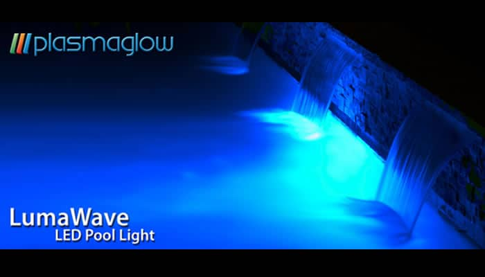Plasmaglow LumaWave LED Swimming Pool Light