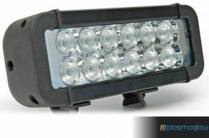 "Plasmaglow Apache 8"" LED Offroad Light - Rectangle"