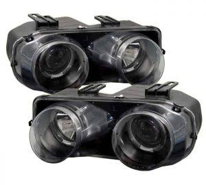 1994-1997 Acura Integra Halo Projector Headlights - Black