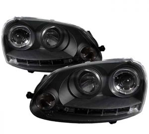 2006-2008 Volkswagen Golf V Halo LED Projector Headlights