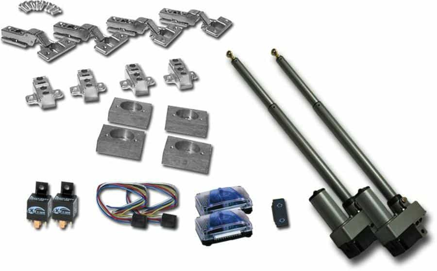Automatic Split Hood Kit with Remote