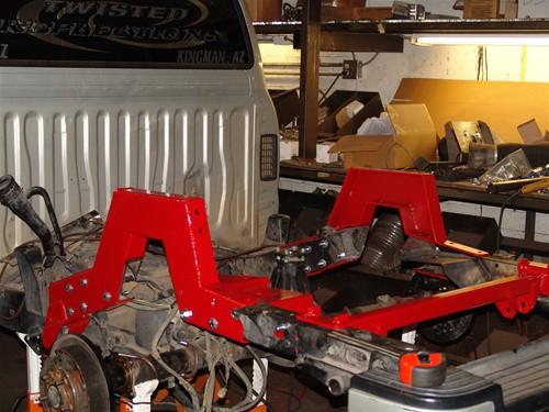 1963-1991 Chevrolet C20 w/o 3rd Member Street Scraper Kit (Complete Rear Axle Only)