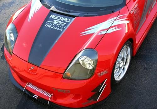 2000-2001 Toyota MR-2 Spyder Widebody Aerodynamic Body Kit