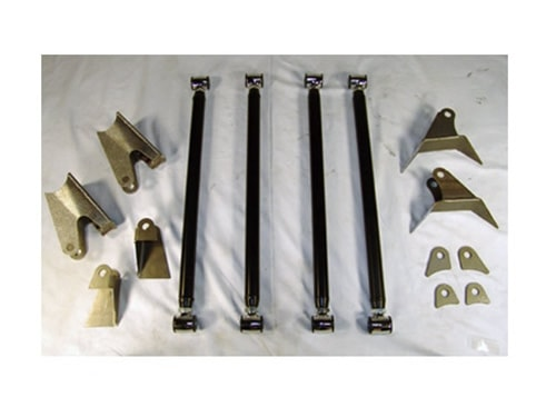 Mini Truck Heavy Duty Triangulated 4 Link Rear Air
