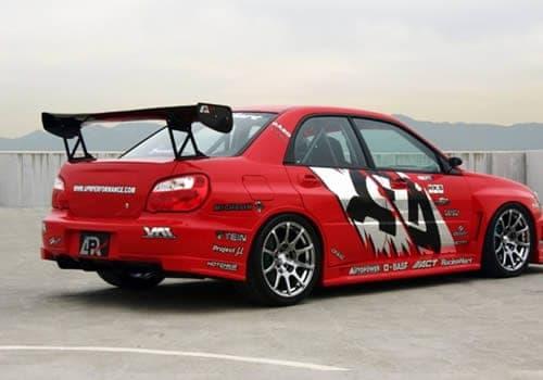 2004-2005 Subaru Impreza WRX Widebody Aerodynamic Body Kit