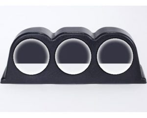 3 Gauge Pod Dash Mount Pod Only (Universal Trim-able Design)