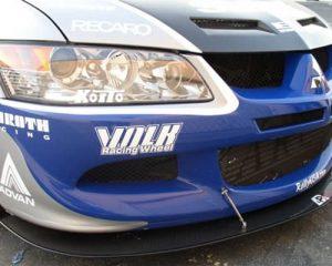 2003-2005 Mitsubishi Evolution 8 Carbon Fiber Wind Splitter