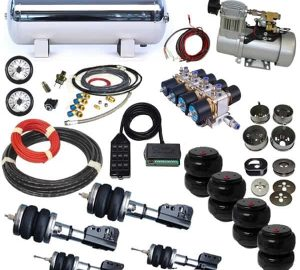 1987-1998 Ford F250, F350 Plug and Play Air Suspension Kit (super duty)