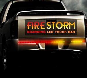 """36"""" Plasmaglow Firestorm Scanning LED Light Bar Truck"""