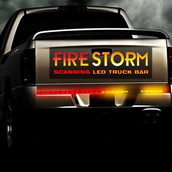 "36"" Plasmaglow Firestorm Scanning LED Light Bar Truck"