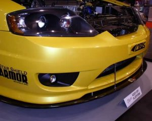 2004-UP Hyundai Tiburon Carbon Fiber Wind Splitter