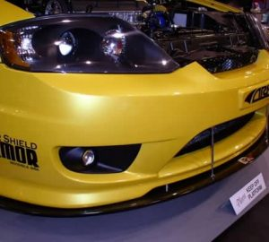 2004-UP Hyundai Tiburon Carbon Fiber Wind Splitter