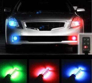 Plasmaglow LED Headlight Universal Strobe Light Kit
