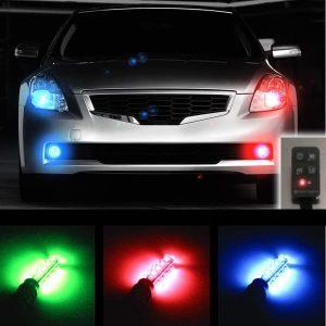 Plasmaglow LED Headlight Universal Strobe Light Kit