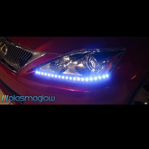 Plasmaglow Lightning Eyes LED Headlight Kit - 19inch (Orange)