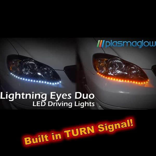 Lightning Eyes DUO LED Headlight Kit w/ Turn Signal