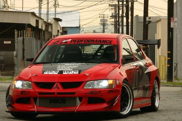 2003-2005 Mitsubishi Evolution 8 Widebody Aerodynamic Body Kit - X2  Industries
