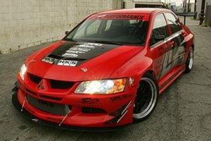 2003-2005 Mitsubishi Evolution 8 Widebody Aerodynamic Body Kit