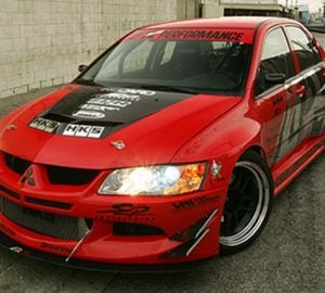 2003-2005 Mitsubishi Evolution 8 Widebody Aerodynamic Body Kit