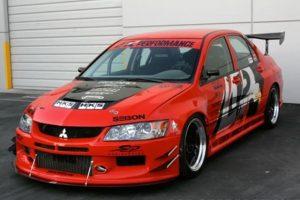 2006-2007 Mitsubishi Evolution 9 Widebody Aerodynamic Body Kit