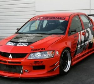 2006-2007 Mitsubishi Evolution 9 Widebody Aerodynamic Body Kit